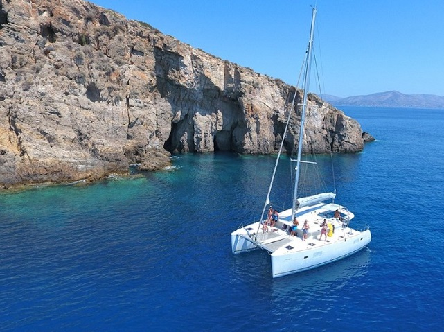 Half Day Athens Private Luxury Catamaran Cruises